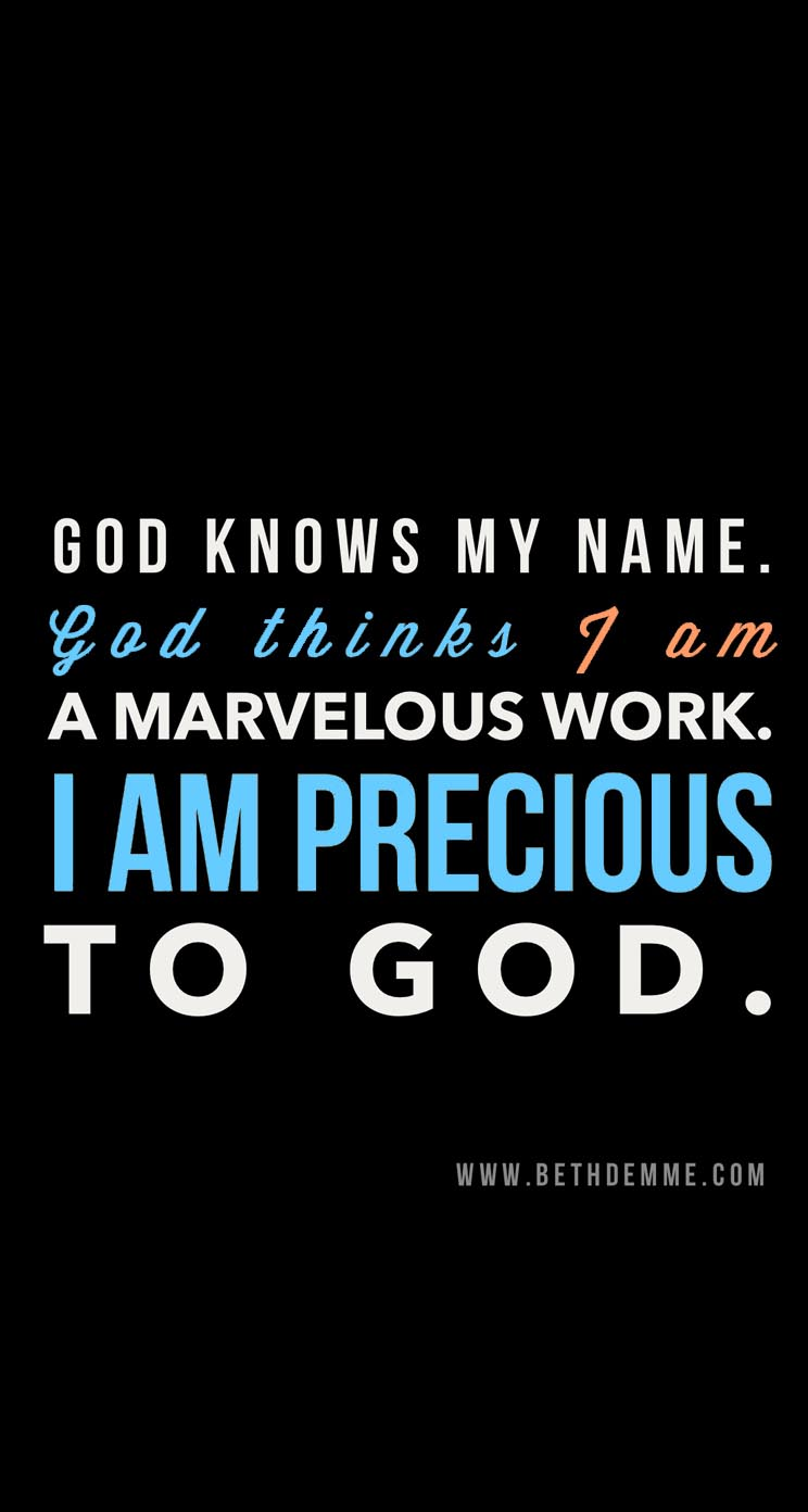 God You Know my Needs God Knows my Name Iphone